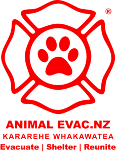 Animal Evac logo Evacuate Shelter Reunite